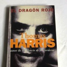Relatos y Cuentos: LIBRO DRAGÓN ROJO. THOMAS HARRIS. Lote 143748408