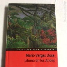 Relatos y Cuentos: LIBRO LITUMA EN LOS ANDES. MARIO VARGAS LLOSA. Lote 143848580