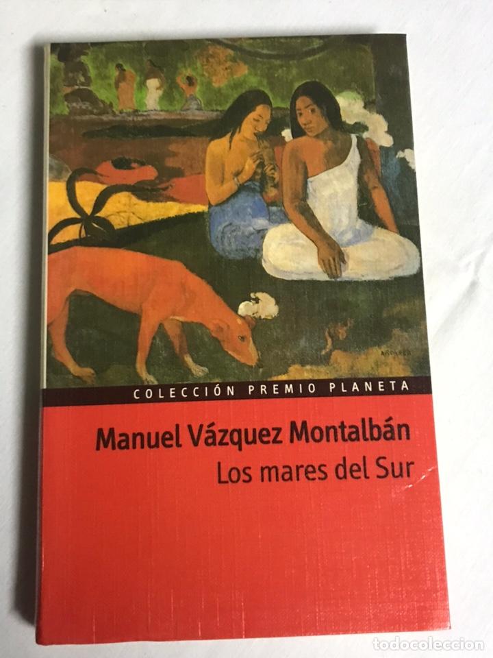 LIBRO LOS MARES DEL SUR. MANUEL VÁZQUEZ MONTALBAN (Libros Nuevos - Literatura - Relatos y Cuentos)