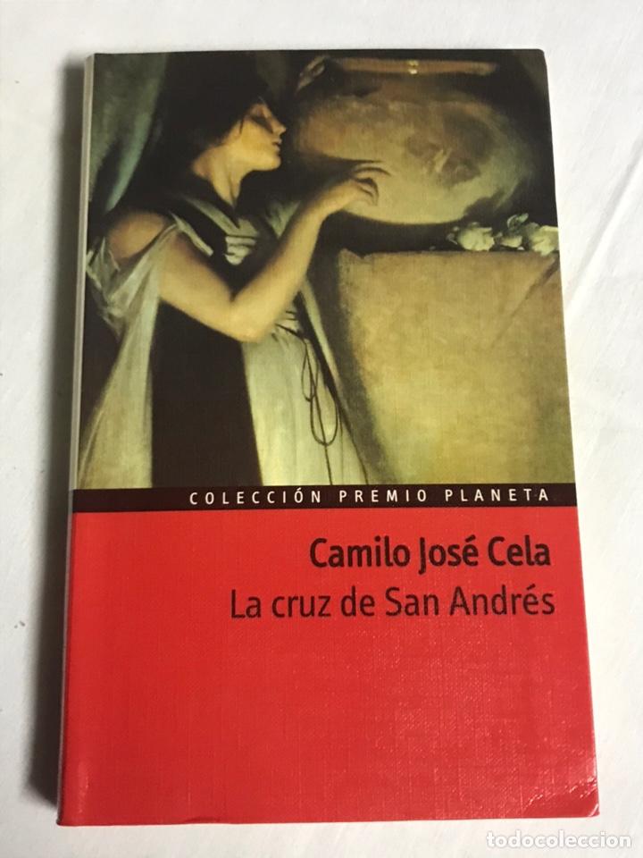 LIBRO LA CRUZ DE SAN ANDRÉS. CAMILO JOSÉ CELA (Libros Nuevos - Literatura - Relatos y Cuentos)