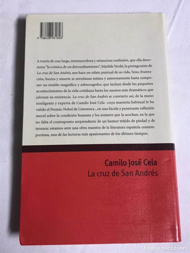 Relatos y Cuentos: LIBRO LA CRUZ DE SAN ANDRÉS. CAMILO JOSÉ CELA - Foto 2 - 143849194