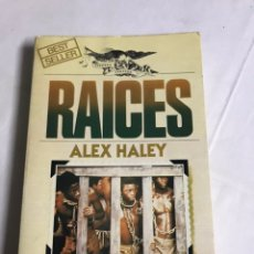 Relatos y Cuentos: LIBRO RAÍCES. ALEX HALEY. Lote 143849297