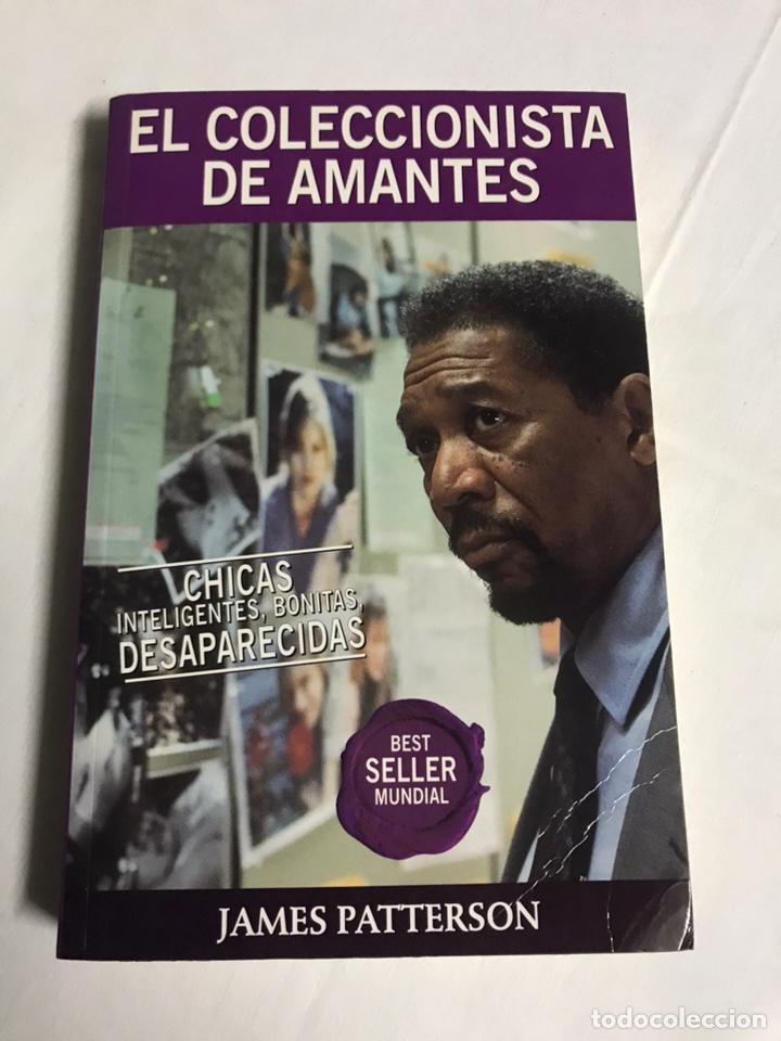 LIBRO EL COLECCIONISTA DE AMANTES. JAMES PATTERSON (Libros Nuevos - Literatura - Relatos y Cuentos)