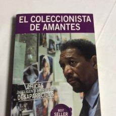 Relatos y Cuentos: LIBRO EL COLECCIONISTA DE AMANTES. JAMES PATTERSON. Lote 143849354