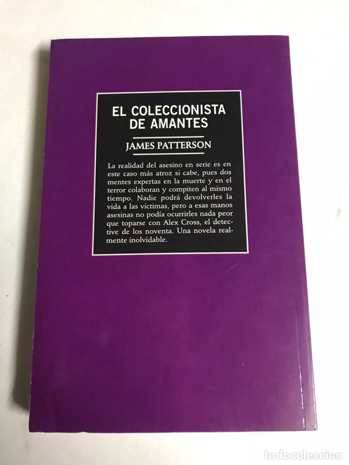 Relatos y Cuentos: LIBRO EL COLECCIONISTA DE AMANTES. JAMES PATTERSON - Foto 2 - 143849354