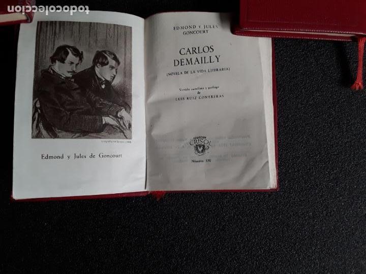 Relatos y Cuentos: Goncourt Edmond y Jules. Carlos Demailly. (Crisol 330) - Foto 3 - 146724190