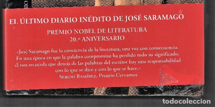 Relatos y Cuentos: JOSÉ SARAMAGO EL CUADERNO DEL AÑO DEL NOBEL ED ALFAGUARA 2018 1ª EDICIÓN 20 ANIVERSARIO PLASTIFICADO - Foto 6 - 146997234