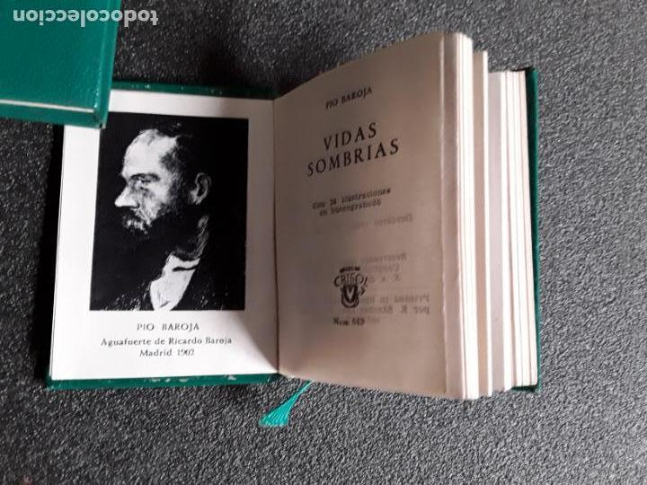 Relatos y Cuentos: Baroja Pío. Vidas sombrías. (Crisol N.º 013). Preciosas descripciones y cuentos. Alma vasca. - Foto 2 - 147566866