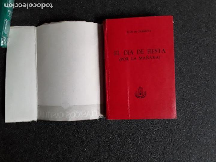 ZABALETA, JUAN DE. EL DÍA DE FIESTA (POR LA MAÑANA). FIESTA PARA LA DAMA, EL POETA, EL CABALLERO... (Libros Nuevos - Literatura - Relatos y Cuentos)