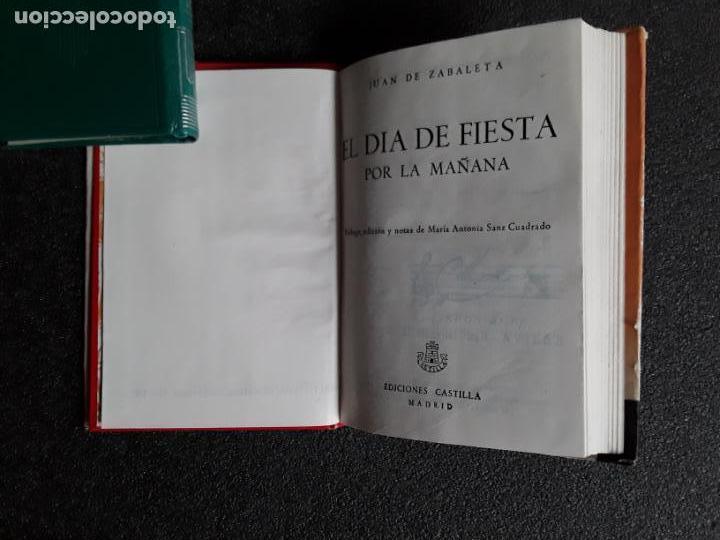 Relatos y Cuentos: Zabaleta, Juan de. El día de fiesta (por la mañana). Fiesta para la dama, el poeta, el caballero... - Foto 2 - 147567302