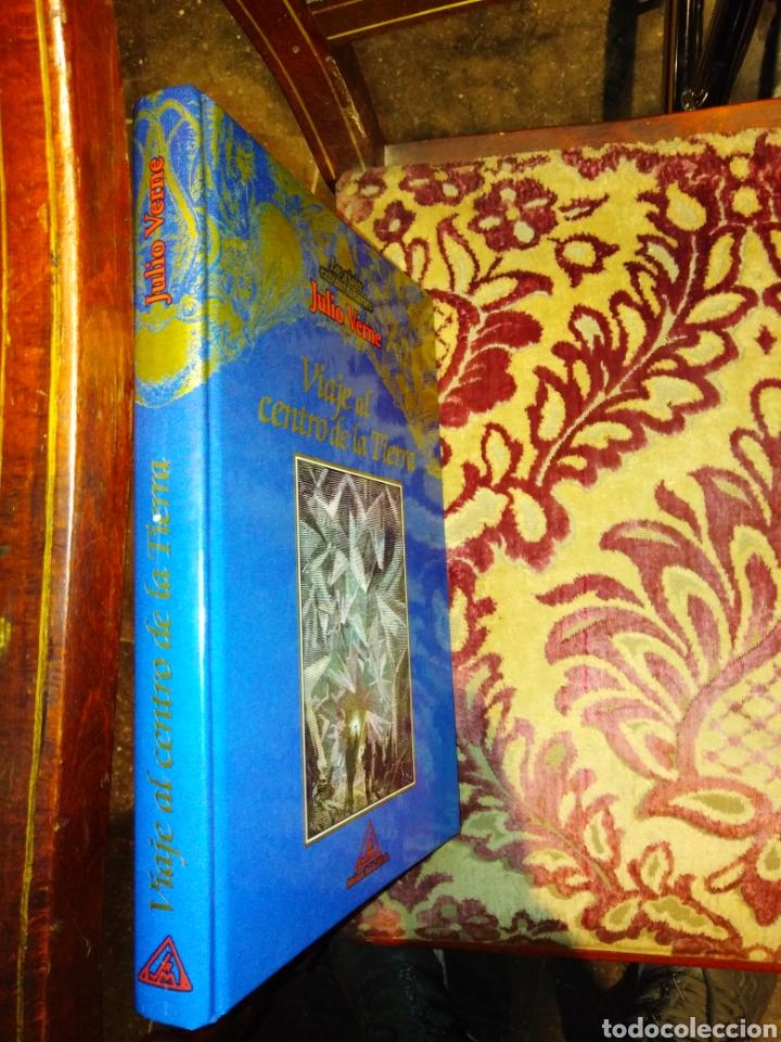 Relatos y Cuentos: Libro viaje al centro de la tierra julio verne ( ediciones rueda) - Foto 2 - 148577694