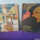 Relatos y Cuentos: LOTE DE REVISTAS LECTURAS AGOSTO 1937-SEPTIEMBRE 1933. Lote 148785100