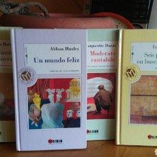 Relatos y Cuentos: LOTE 4 LIBROS MILLENIUM X.ANIVERSARIO EL MUNDO. Lote 148902002