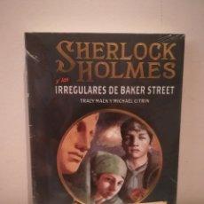 Relatos y Cuentos: SHERLOCK HOLMES Y LOS IRREGULARES DE BAKER STREET NUEVO CON PRECINTO. Lote 149710177