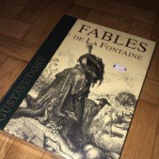 Relatos y Cuentos: GRAN LIBRO LES FABLES DE LA FONTAINE/ G. DORÉ. Lote 149965406