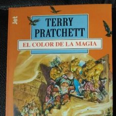 Relatos y Cuentos: EL COLOR DE LA MAGIA TRRRY PRATCHETT. Lote 150128010