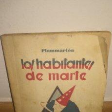 Relatos y Cuentos: LOS HABITANTES DE MARTE. Lote 150785600