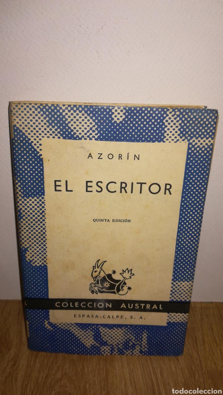 EL ESCRITOR, AZORIN. COLECCIÓN AUSTRAL (Libros Nuevos - Literatura - Relatos y Cuentos)