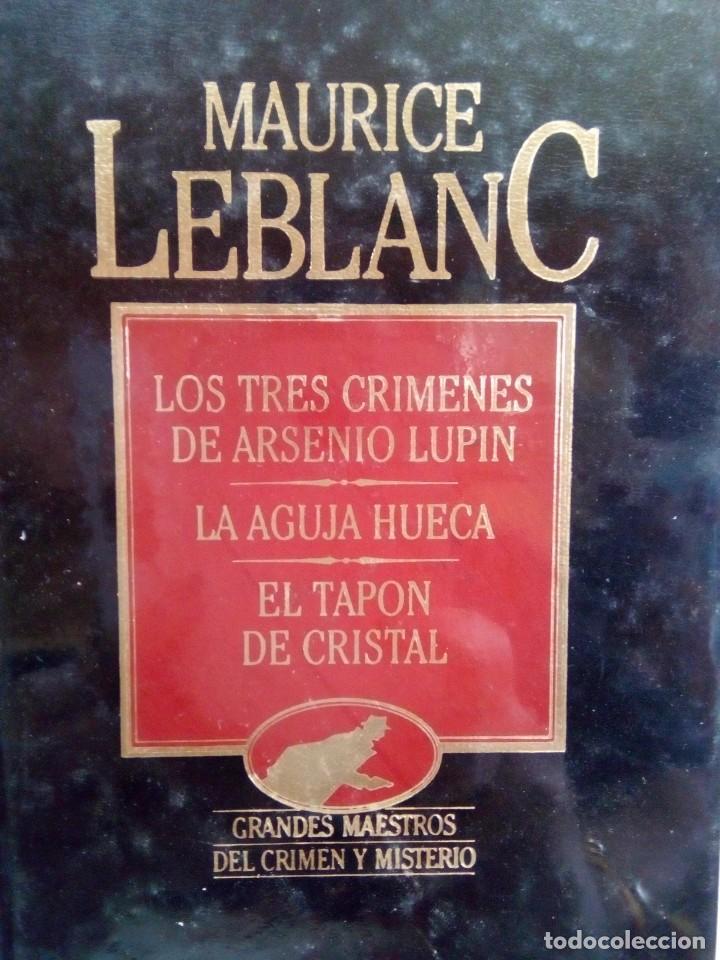 Relatos y Cuentos: LIBRO GRANDES MAESTROS DEL CRIMEN Y MISTERIO PRECINTADO - Foto 2 - 160090654