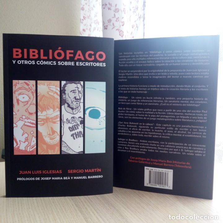 BIBLIÓFAGO - AUSTER - BUKOWSKI - BRADBURY - SALINGER - ENVÍO GRATIS - EDICIÓN LIMITADA 51/101 (Libros Nuevos - Literatura - Relatos y Cuentos)