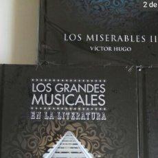 Relatos y Cuentos: LOTE DE 5 LIBROS LOS GRANDES MUSICALES. Lote 165648680