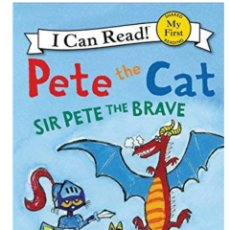 Livres: LIBRO NUEVO PETE THE CAT AIR PETE THE BRAVE. Lote 169135628