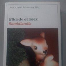 Relatos y Cuentos: BAMBILANDIA. ELFRIEDE JELINEK. DESTINO. Lote 173010715