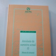 Relatos y Cuentos: ANTOLOXÍA DA NARRATIVA ACTUAL I. A NOSA TERRA. Lote 173654627