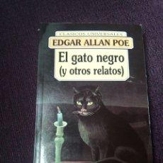Relatos y Cuentos: EL GATO NEGRO Y OTROS RELATOS.. Lote 174031315