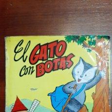 Relatos y Cuentos: EL GATO CON BOTAS. CUENTO - DISCO. Lote 178444138