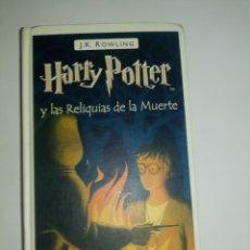 Relatos y Cuentos: LIBRO DE HARRY POTTER RELIQUIAS DE LA MUERTE. Lote 179150458