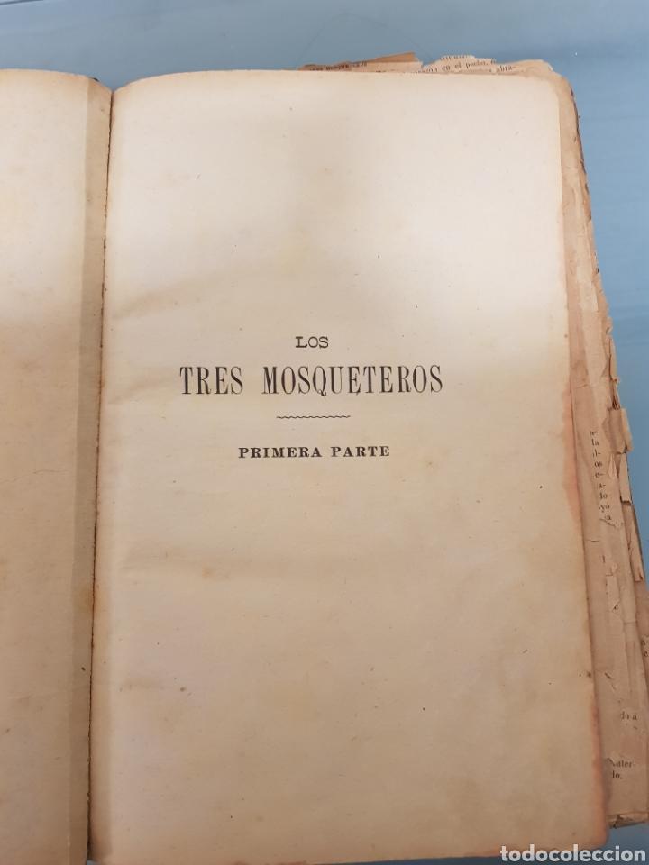 Relatos y Cuentos: Libro los tres mosqueteros - Foto 2 - 182480165