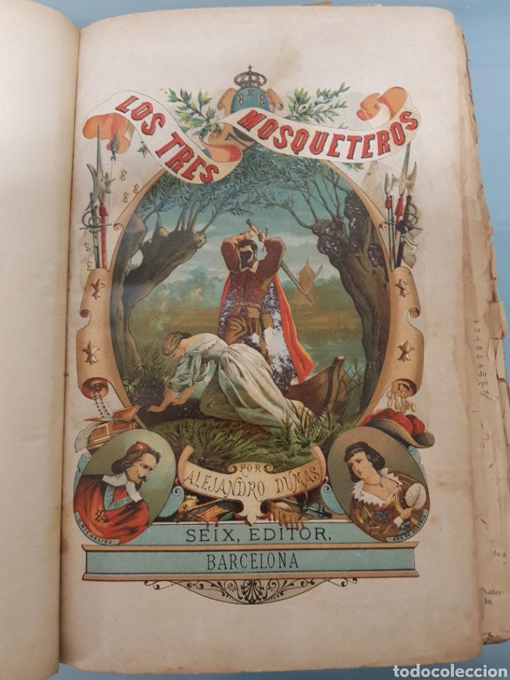 Relatos y Cuentos: Libro los tres mosqueteros - Foto 3 - 182480165