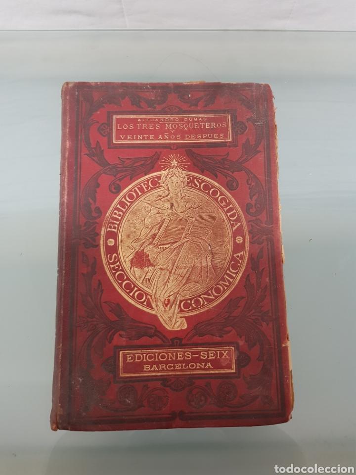 LIBRO LOS TRES MOSQUETEROS (Libros Nuevos - Literatura - Relatos y Cuentos)