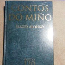Relatos y Cuentos: NUEVO EN EL PLÁSTICO. CONTOS DO MIÑO. ELÍSEO ALONSO. Lote 184875450