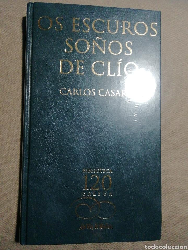 NUEVO EN EL PLÁSTICO. OS ESCUROS SOÑOS DE CLIO. CARLOS CASARES. EN GALLEGO (Libros Nuevos - Literatura - Relatos y Cuentos)