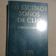 Relatos y Cuentos: NUEVO EN EL PLÁSTICO. OS ESCUROS SOÑOS DE CLIO. CARLOS CASARES. EN GALLEGO. Lote 184880906