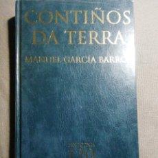Relatos y Cuentos: NUEVO EN EL PLÁSTICO. CONTIÑOS DA TERRA. MANUEL GARCÍA BARRIOS. EN GALLEGO. Lote 184892597