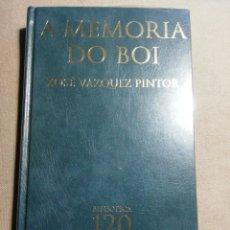 Relatos y Cuentos: NUEVO EN EL PLÁSTICO. A MEMORIA DO BOI. XOSÉ VÁZQUEZ PINTOR. EN GALLEGO. Lote 184893791