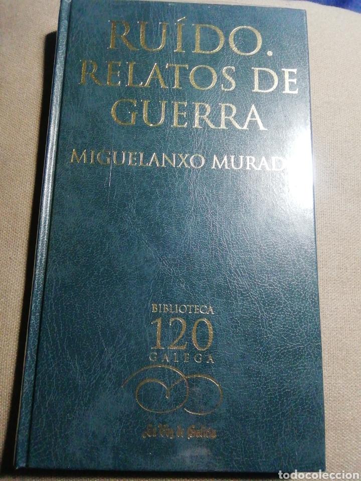 NUEVO EN EL PLÁSTICO. RUIDO. RELATOS DE GUERRA. MIGUELANXO MURADO. EN GALLEGO (Libros Nuevos - Literatura - Relatos y Cuentos)