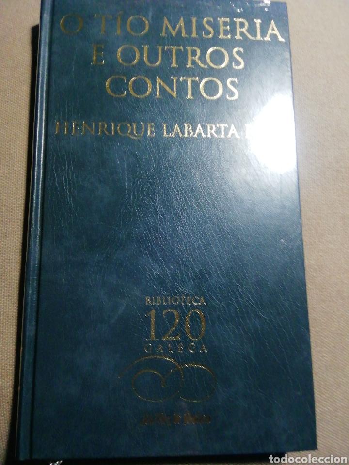 NUEVO EN EL PLÁSTICO. O TÍO MISERIA E OUTROS CONTOS. HENRIQUE LABARTA POSE. EN GALLEGO (Libros Nuevos - Literatura - Relatos y Cuentos)