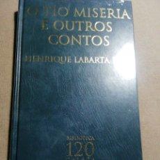 Relatos y Cuentos: NUEVO EN EL PLÁSTICO. O TÍO MISERIA E OUTROS CONTOS. HENRIQUE LABARTA POSE. EN GALLEGO. Lote 184894918