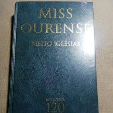Relatos y Cuentos: NUEVO EN EL PLÁSTICO. MISS OURENSE. BIETO IGLESIAS. EN GALLEGO. Lote 184895503