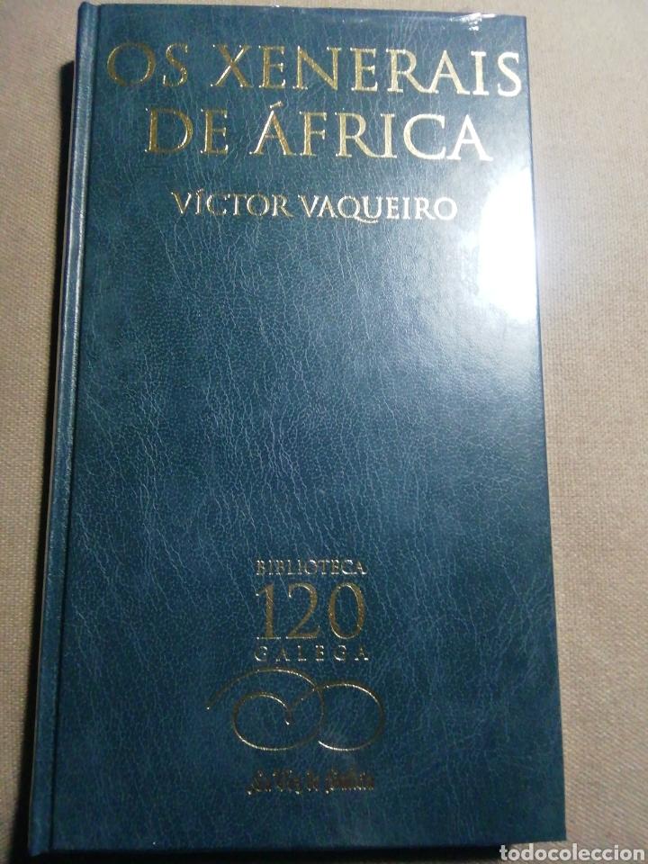NUEVO EN EL PLÁSTICO. OS XENERAIS DE ÁFRICA. VÍCTOR VAQUEIRO. EN GALLEGO (Libros Nuevos - Literatura - Relatos y Cuentos)