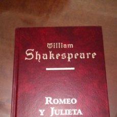 Relatos y Cuentos: LIBRO DE WILLIAM SHAKESPEARE ROMEO Y JULIETA. Lote 189383653