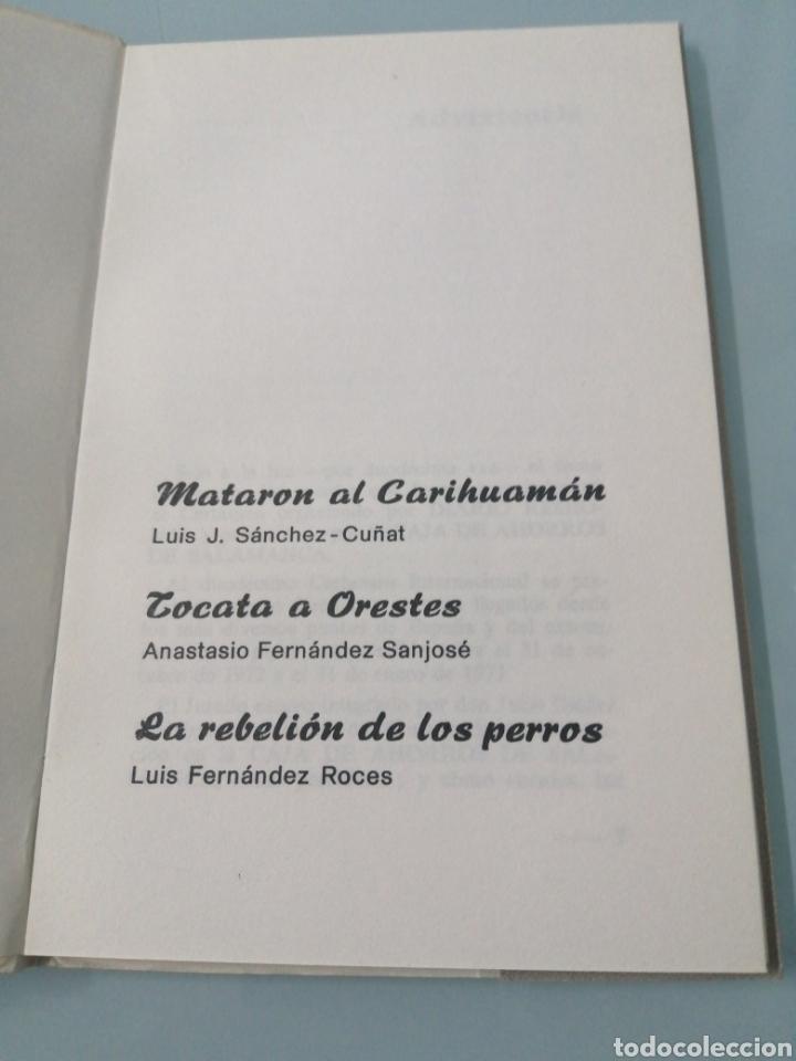 Relatos y Cuentos: CUENTOS PREMIADOD XII CERTAMEN INTERNACIONAL 1973. SALAMANCA, VALLADOLID 1974 - Foto 2 - 192785230