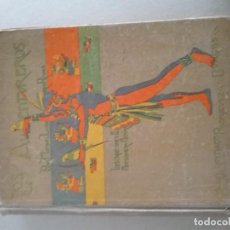 Relatos y Cuentos: LOS AVENTUREROS. MANUEL LINARES RIVAS. Lote 193821542