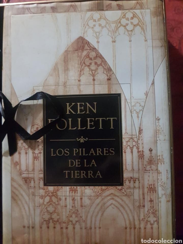 Relatos y Cuentos: Los pilares de la tierra, de K. Follet. Edición de lujo - Foto 3 - 194246373
