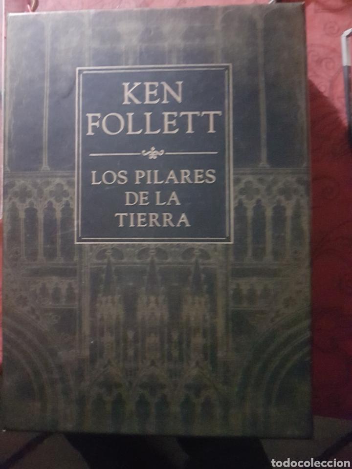 LOS PILARES DE LA TIERRA, DE K. FOLLET. EDICIÓN DE LUJO (Libros Nuevos - Literatura - Relatos y Cuentos)