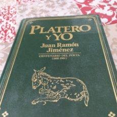 Relatos y Cuentos: PLATERO Y YO. Lote 195365496